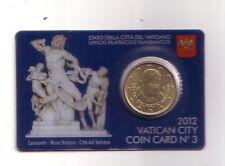 Vatican 50 cent 2012 coincard N° 3