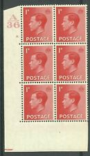 1936, Sg458, P2, 1d Scarlet, A36 / 2 dot, Mm, (02397)