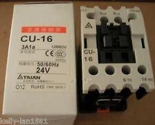 1pcs New TECO CU-16 Contactor 3A1b 220VAC 50/60HZ