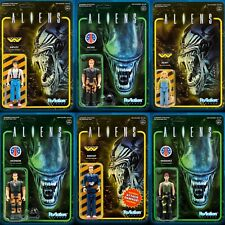 Super7 Aliens Alien Humans ReAction Action Figure Set Of 6
