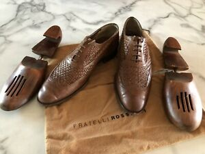 Fratelli Rossetti Brogue (wingtip) men's shoes - Made In Italy