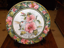 ROYAL DOULTON THE IMPERIAL HUMMINGBIRD PLATE No MY2785 Limited Edition