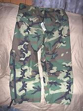 Genuine Military Goretex Pants XL Long Cold Weather Trousers Camo Rain Pants XLT