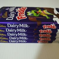 6x Cadbury Dairy Milk Chocolate Freddo Block 171g