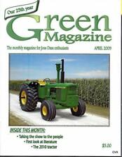John Deere Green Magazine April 2009 Featured Models 2010 & B Tractors