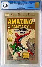 CGC 9.6 MARVEL MILESTONE EDITION: AMAZING FANTASY #15 .. 1ST SPIDER-MAN .. 1992