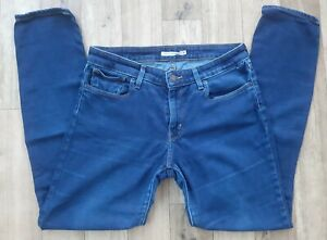 Ladies Levis 311 Shaping Skinny Jeans size 12 Waist 30 leg 29 Levi blue