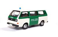 #09251 - BUB VW T3a Bus, Polizei Deutschland, weiss/grün - 1:87