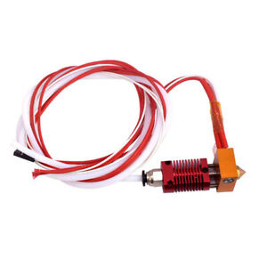 Extruder Heater Hot End Kit 0.1mm Nozzle For Creality Ender CR10 3D Printer