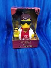 Say Hello to My Lil Friend CelebriDuck Rubber Duck Al Pacino Fans NIB NEW!