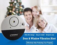 Doberman security Door Window Vibration Alarm *100DB Sound* - UK SELLER