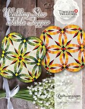 Wedding Star Table Topper by Judy Niemeyer Foundation Paper Pieced Quilt Pattern