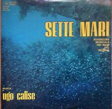"LP Ugo Calise. Colonna Sonora Originale 1969 ""I Sette Mari""."
