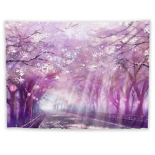 Anime Cherry Wall Hanging Tapestry Psychedelic Bedroom Home Decoration