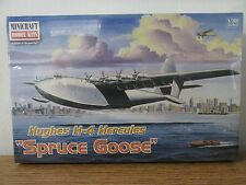 Minicraft Hughes H-4 Hercules Spruce Goose aircraft Model Kit 1/200