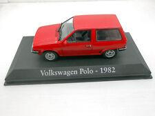 1/43 COCHE VOLKSWAGEN POLO 1982 VW SEAT IXO RBA 1/43 METAL MODEL CAR MINIATURA