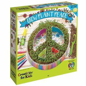 Creativity for Kids Plant A Peace Garden Kit - Peace Garden Craft Kit for Kids