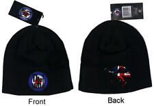 The Who Target Logo and Jump Black Beanie Cap Hat