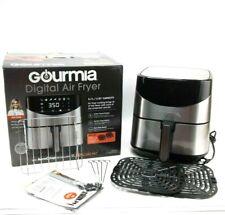 Gourmia 6-Qt. 5.7 L Stainless Steel Digital Air Fryer Open Box New Great Conditn