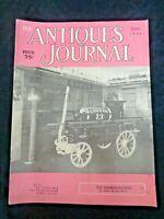 Antiques Journal 1954 Meissen Chinese Snuff Bottles Gainsborough Chair Fire Mark