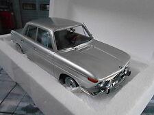 BMW 1800 tisa ti 1965 limousine argent silver MINICHAMPS NEUF 1:18