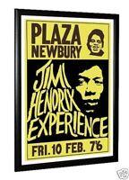 Jimi Hendrix  Concert Poster Newbury 1967