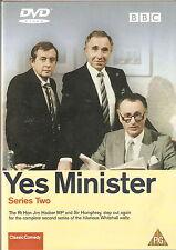 YES MINISTER - Series 2. Paul Eddington, Nigel Hawthorne. BBC 1981 (DVD 2002)