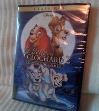 DVD DISNEY LA BELLE ET LE CLOCHARD 2 NEUF SOUS BLISTER LOSANGE JAUNE 59