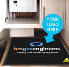 Personalised protective work Mat, ideal for plumbers, gas engineers, electrician