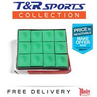 GREEN COLOUR  MASTER BILLIARD SNOOKER POOL CHALK FREE POST