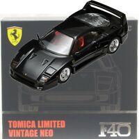 TOMYTEC TLV 1/64 Ferrari F40 Black Tomica Limited Vintage Neo miniature car JP