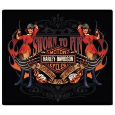 Sworn to Fun Babes Harley-Davidson Tin Sign Embossed Garage 721