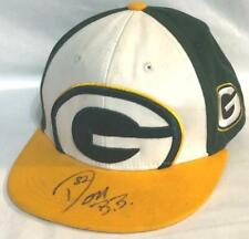 VINTAGE GREEN BAY PACKERS ADJUSTABLE HAT AUTOGRAPHED SIGNED DON BEEBE #82 ~ WOW