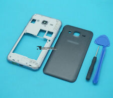 For Samsung Galaxy J2 SM-J200 black Housing Middle Frame+Battery Cover