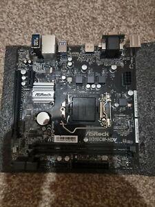 Asrock H310CM-HDV Intel H310 1151 Micro Atx Ddr4 Vga Dvi Hdmi