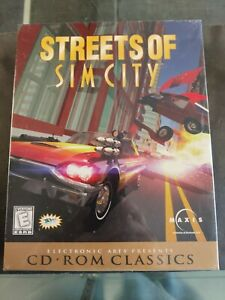 STREETS OF SIM CITY CD ROM CLASSICS PC GAME BRAND NEW SEALED