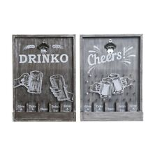 Opener DKD Home Decor Cheers! Wood MDF (2 Pcs) (13x2 13/16x18 1/8in)