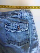 Womans Roxy Jean Shorts, Size 12, Faded Blue Denim