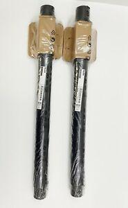 """SET of 2 - Ikea OLOV Leg Adjustable 23⅝-35⅜"""" Steel/Poly Black 302.643.01 - NEW"""
