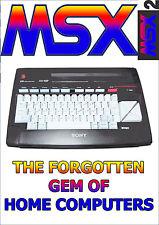 MSX - The Forgotten Gem PC DVD, pack full of emulators, Ebooks, Software...