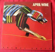 April Wine, animal grace,  LP - 33 Tours