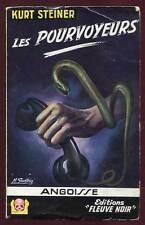 KURT STEINER: ANGOISSE N°35. FLEUVE NOIR. 1957.