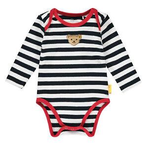 STEIFF® Baby Jungen Body Langarm Ringel 56-86 H/W 2020-21 NEU