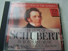 VOX Music Masters The Story of Schubert in Words and Music CD