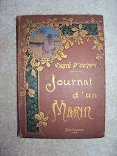LIVRE JOURNAL D'UN MARIN VIGNE D'OCTON EDITIONS EMILE GAILLARD PARIS
