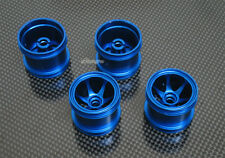 Alloy Front + Rear  Sinkage Wheel/Rims 6 Spoke for Kyosho Mini-Z Monster