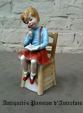 B20140628 - Figurine en biscuit de porcelaine 1950-70 - Très bon état