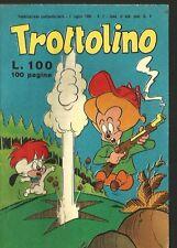 TROTTOLINO # 2 - 1 LUGLIO 1960- RARO- EDIZIONE BIANCONI - RARO - ORIGINALE - CO1