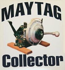 Maytag Gas Engine Model 92 72 82 Upright Collector Large Decal Hit & Miss Motor
