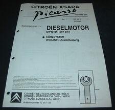 Werkstatthandbuch Citroen Xsara Picasso Diesel Motor DW10TD Webasto Standheizung